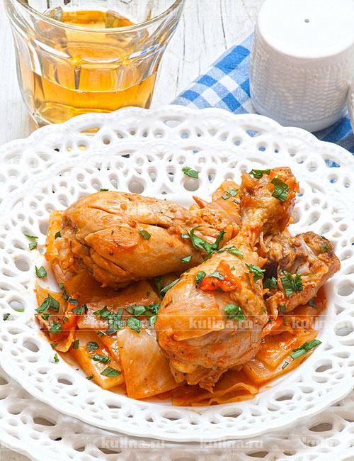Курица тушеная (47 рецептов с фото) - рецепты с фотографиями на Поварёнок.ру