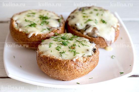 рецепт жульена в булочках