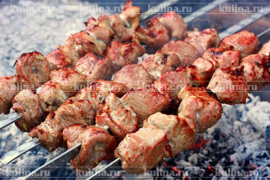 рецепты все шея шашлык свинина