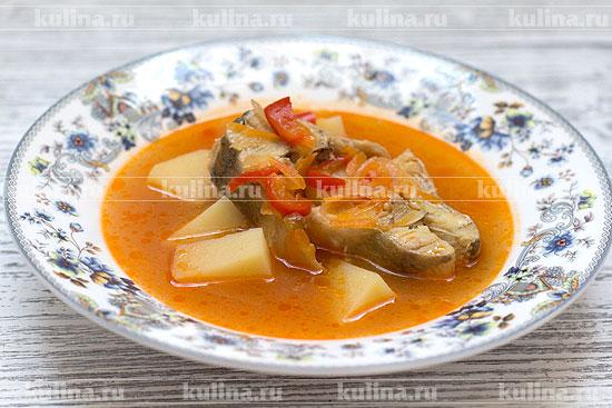 суп из свежего минтая рецепт