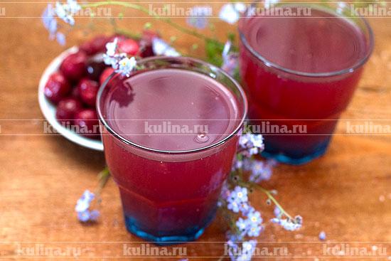 кисель из замороженных ягод рецепт