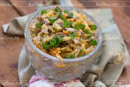 Салат обжорка рецепт с с черносливом