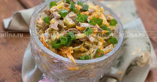 салат обжорка рецепт с фото пошаговым фото