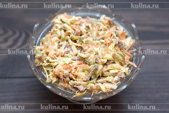 салат из говядины рецепт простой рецепт