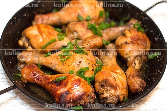 Куриные голени в духовке рецепт