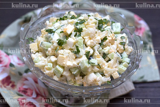 рецепты салатов из цветной капусты