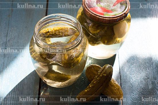 маринованные кисло сладкие огурцы