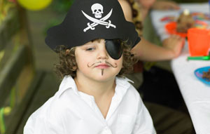 Шляпа пирата для мальчика своими руками