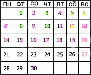 Какие бывают праздники все числа