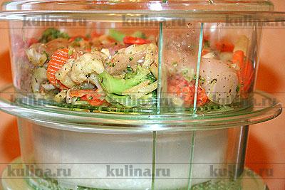 Рецепты приготовления пищи в пароварках
