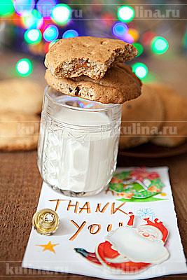 рецепты печенья для санты