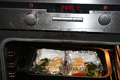 Тилапия, запеченная с овощами – кулинарный рецепт