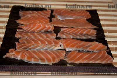Приготовление суши в домашних условиях.
