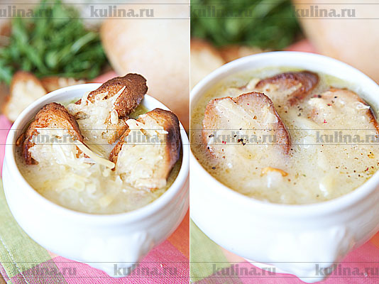 рецепт суп пюре с плавленным сыром с фото