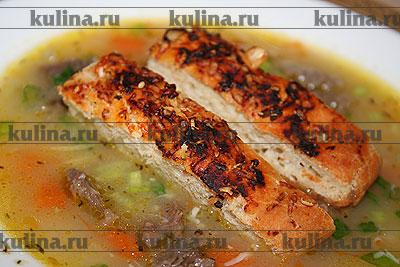 суп-лапша с уткой рецепты