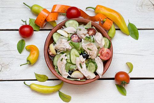 Рецепт салата полезный и диетический