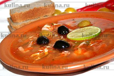 как называется блюдо русской кухни суп на крутом мясном рыбном или грибном