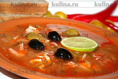 густой суп из рыбы или мяса с острыми приправами русская кухня 7 букв