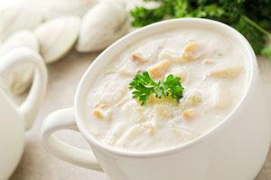 Молочные супы фото