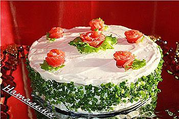 Простые рецепты тортов фотография на