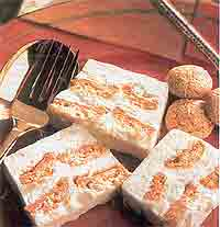 Крем с миндальными пирожными