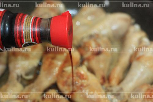 Рецепт куриные ножки в соусе на сковороде рецепт с пошагово
