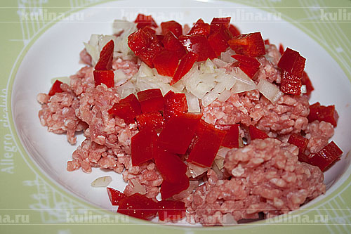 Филе индейки, запеченное с киви