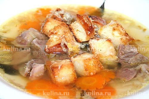 рецепт суп-лапша с уткой рецепт с фото #3