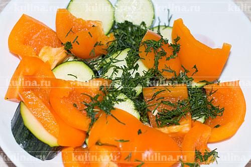 """Овощной шашлык """"Форестер"""" – кулинарный рецепт"""