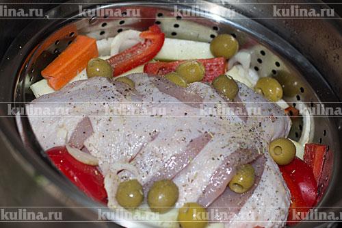 Куриные грудки приготовить в пароварке рецепты