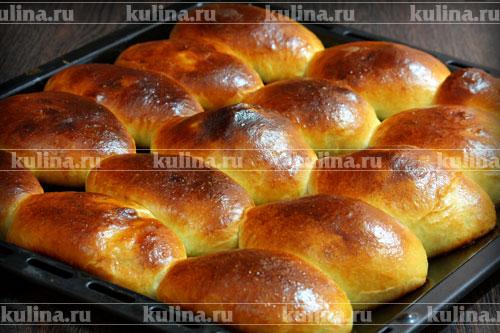 пышные пирожки с мясом в духовке рецепт с фото