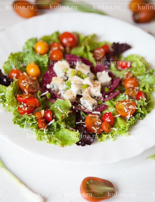 рецепт салата из свеклы с сыром