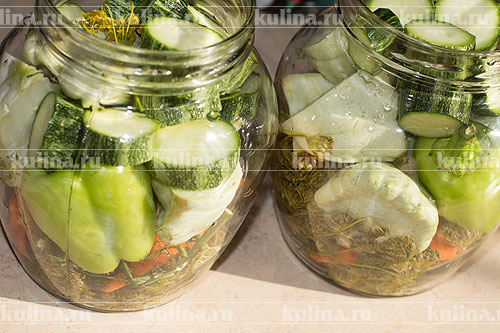 Рецепты из кабачков и патиссонов