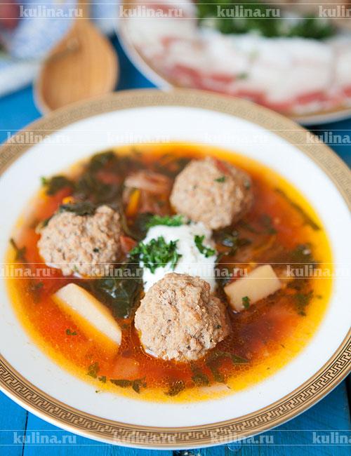как приготовить фарш для супа с фрикадельками рецепт