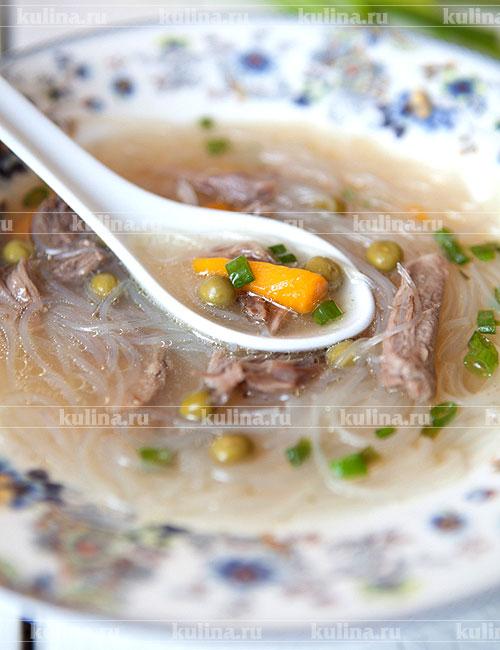 рецепт суп-лапша с уткой рецепт с фото #2