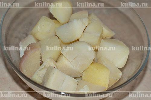 картофельные котлеты рецепт с фото в мундире
