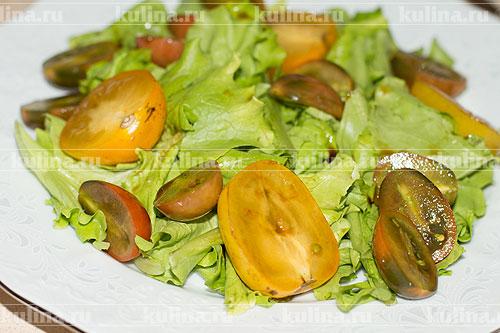 салат с креветками и сухариками рецепт с фото очень