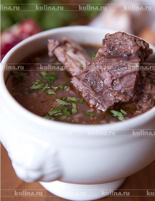 рецепты настоящего супа харчо с фото