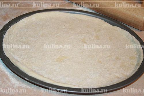 пицца рецепт тесто пошагово