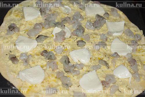 рецепт пиццы с ананасами в духовке рецепт с фото