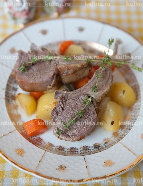 Рецепт мясо в духовке с горчицей 194