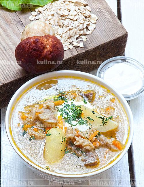 Суп из белых грибов с сыром рецепт