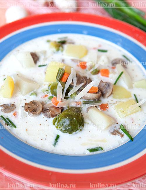 рецепт супа с зеленым луком и яйцом