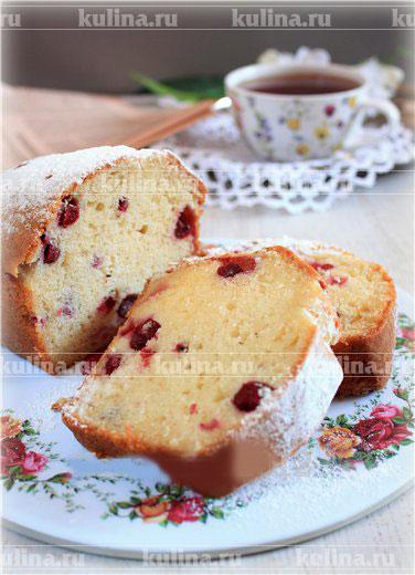 Гречневые кексы с ягодами