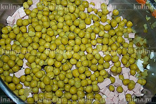 зеленый горошек отварной рецепт приготовления