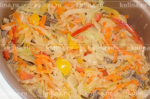 Солянка из капусты рецепт пошаговый рецепт