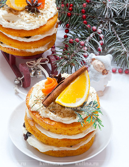 Морковный торт без яиц рецепт