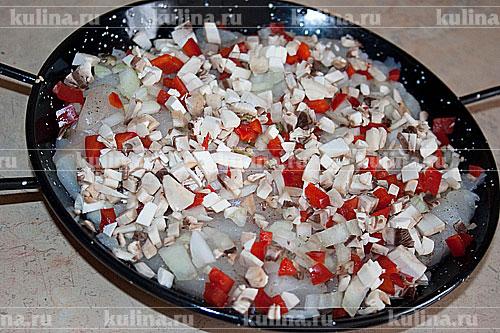 Семга с рисом в духовке в фольге рецепт