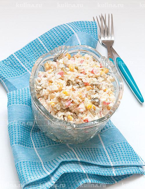 рецепт салата из огурцов без варки на зиму