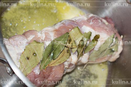 Рулеты из свинины в картофельной шубе – кулинарный рецепт